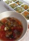 野菜トマトスープ☆離乳食取分け