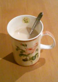 ◇妊婦さん応援◇ 麦茶ラテ
