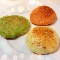 かわいく栄養満点♪ トリコロール芋餅