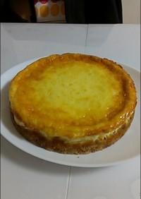 簡単!!ヨーグルトで、濃厚なチーズケーキ