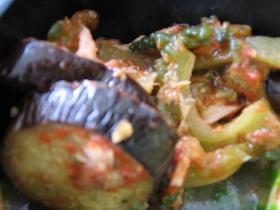 夏野菜のトマトジャムソース