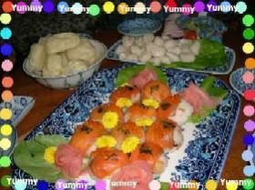 乙女な手まり寿司
