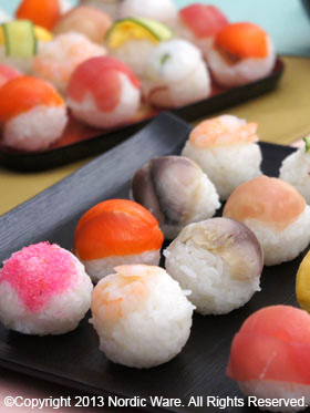 ひな祭りに☆まんまる手まり寿司 その2