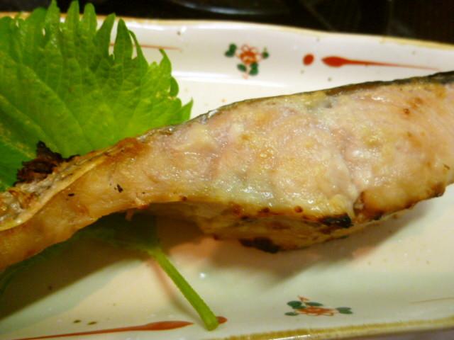 生鮭DEみそっかすW塩麹焼き☆