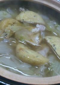 むね肉でねぎと白菜の塩麹鍋