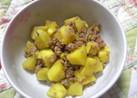 あったかご飯に☆さつま芋と豚挽肉そぼろ