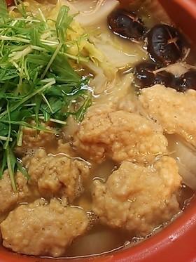 ふんわり美味しい鶏つくね~お鍋に最適~