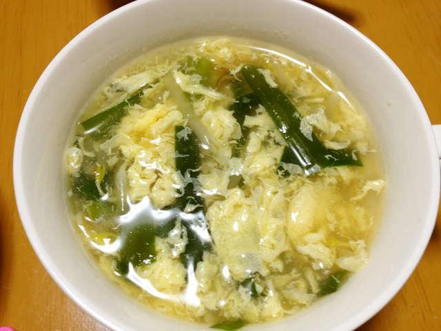 もやし ニラ スープ