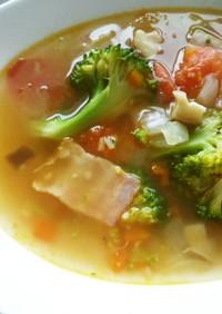 シシリアンルージュのスープ