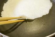 醤油が香ばしい焼きご飯シートの作り方の写真