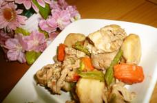 水分なしよ~☆豚と里芋の旨~♪な煮物