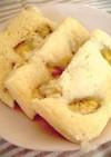 HMで簡単・蒸しパン(離乳食中期)