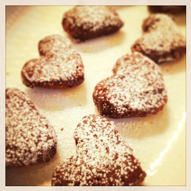 バレンタイン♡本命ガルボ風チョコクッキー