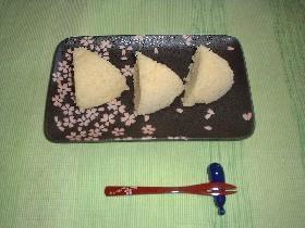 玄米粉のふわふわレンジ蒸しパン
