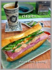 アジアンサンドイッチ★ベトナムバインミーの写真