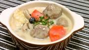 たっぷり白菜と肉団子の豆乳クリーム煮の写真