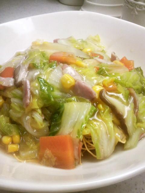 ☆皿うどん☆野菜あんたっぷり♪温まる~♡