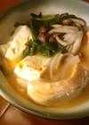 野菜と豆腐と鮭のキムチ鍋