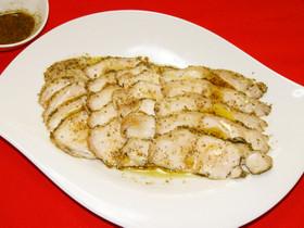 鶏むね肉レンジでチン♪イタリアンハーブ香