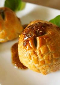 ♡芽キャベツのパイ包みマスタードソース♡