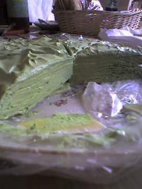 ホットケーキミックスで簡単抹茶ミルクレープ