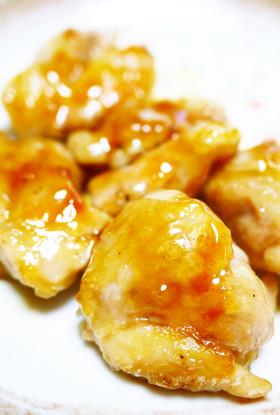 お弁当に!鶏もも肉ひとくち照り焼きチキン