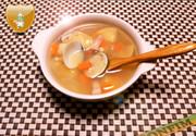 ひな祭りに♪具だくさんスープの写真
