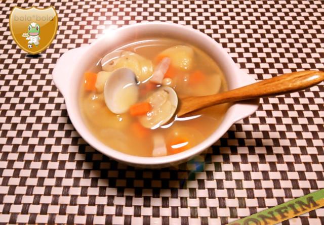 ひな祭りに♪具だくさんスープ