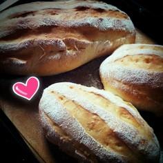 覚え書き☆いつもの白パン