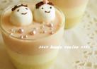 簡単!ひな祭りの豆乳ヨーグルトババロア