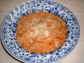 野菜のリゾット★トマト味