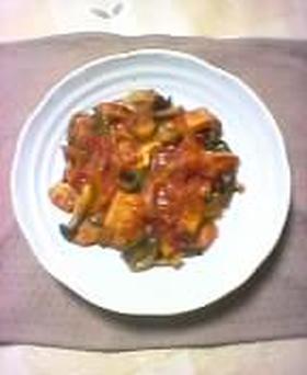 豚肉と野菜のトマト煮こみ