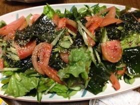 お手軽 韓国風サラダ