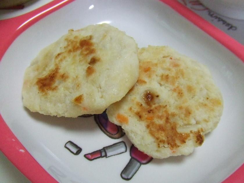 離乳食☆おからと鶏ひき肉のハンバーグ