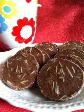 アイスボックスクッキー♡アーモンドココア