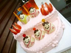 *お雛様ケーキ*