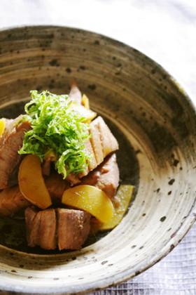 生姜たっぷりマグロの角煮