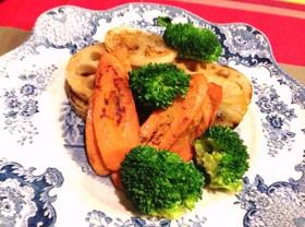 ドライ根菜のステーキ