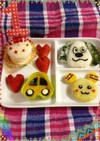 1歳誕生日キャラご飯ワンワンとうーたん