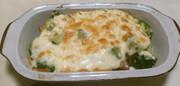 簡単ヘルシー♫お豆腐グラタンの写真