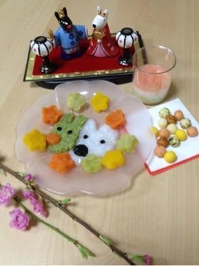 初節句☆ひな祭り☆リサとガスパール2
