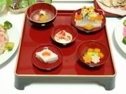 雛祭り桃の節句離乳食御膳(中期〜)の写真