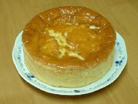 スフレタイプのチーズケーキ♪