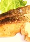 バター無しMIXハーブで、鮭のムニエル