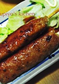 フライパンと割り箸で☆鶏つくねの照り焼き
