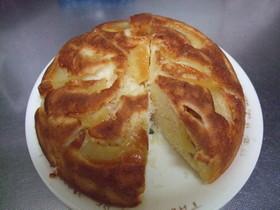 炊飯器でアップルパン