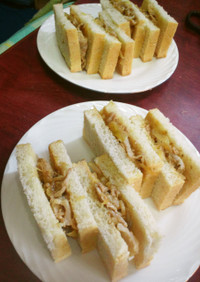 しょうゆ麹焼き肉サンド