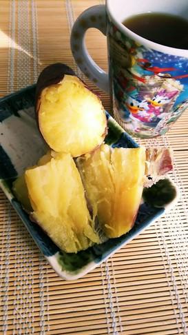 レンジでねっとり♪焼き芋風ふかし芋