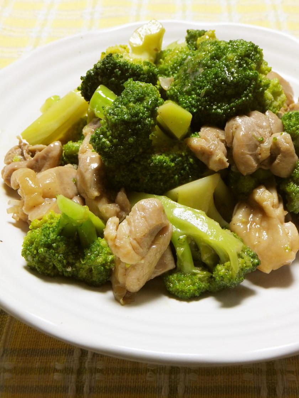 ブロッコリーと鶏肉のオイスター煮