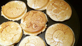 全粒粉の豆乳ホットケーキ